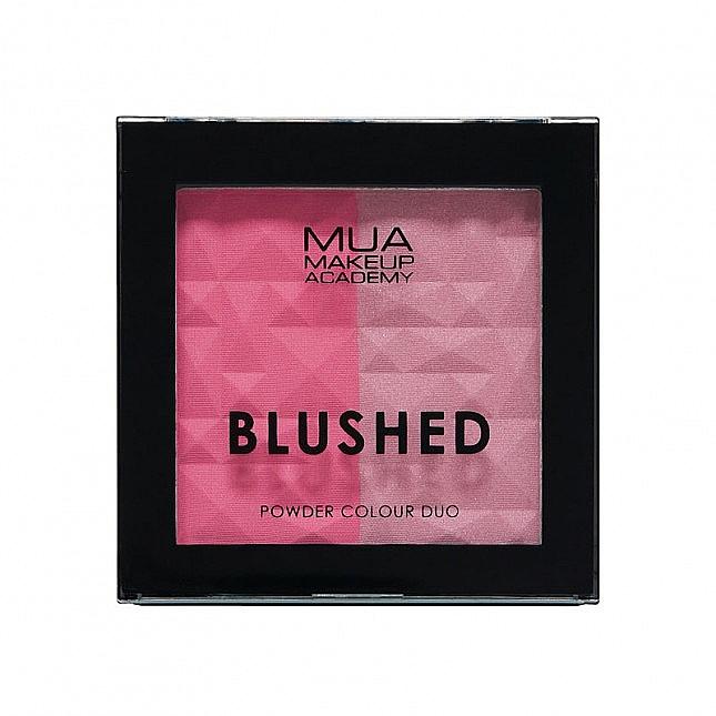 Fard dublu pentru obraz - MUA Blushed Powder Colour Duo