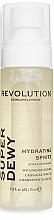 Parfumuri și produse cosmetice Спрей для лица с глюкозамином - Revolution Skincare Superdewy Moisturizing Spray