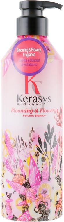 "Șampon de păr ""Fleur"" - KeraSys Blooming & Flowery Perfumed Shampoo"