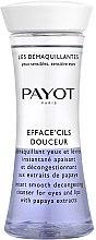 Parfumuri și produse cosmetice Demachiant pentru ochi și buze cu extract de papaya - Payot Les Demaquillantes Efface Cils Douceur Instant Smooth Decongesting Cleanser