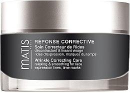 Parfumuri și produse cosmetice Cremă de față împotriva ridurilor mimice - Matis Reponse Corrective Wrinkle Correcting Care