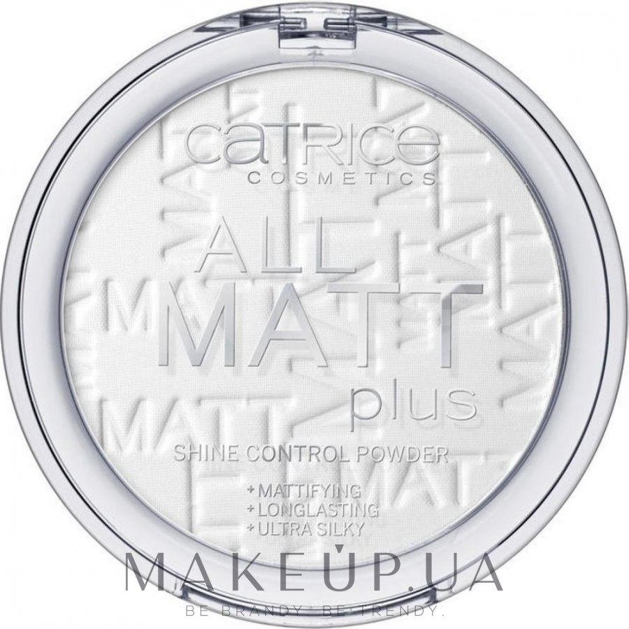 Pudra de față matifiantă - Catrice All Matt Plus Shine Control Powder — Imagine 001 - Universal