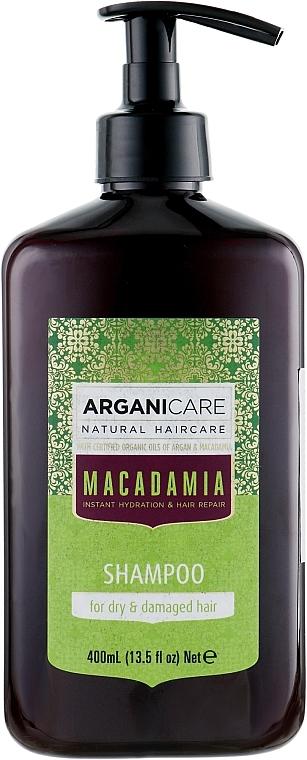 Șampon pentru păr uscat și deteriorat - Arganicare Macadamia Shampoo