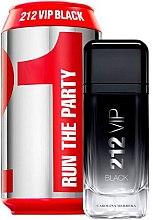 Parfumuri și produse cosmetice Carolina Herrera 212 VIP Black Collector Edition - Apă de parfum