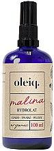 """Parfumuri și produse cosmetice Hidrolat """"Zmeură"""" pentru față, corp și păr - Oleiq Hydrolat Raspberry"""