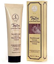 "Духи, Парфюмерия, косметика Увлажняющий крем ""Сандаловое дерево"" - Taylor of Old Bond Street Sandalwood Moisturising Cream"