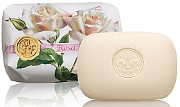 "Parfumuri și produse cosmetice Săpun ""Trandafir"" - Saponificio Artigianale Fiorentino Rose Soap"