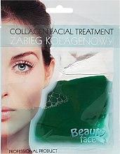 Parfumuri și produse cosmetice Mască de colagen cu extract de castraveți - Beauty Face Cucumber Extract Collagen Mask