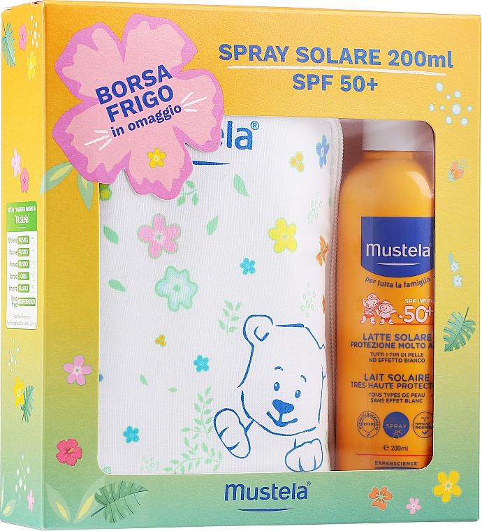 Set - Mustela Bebe Solare (sun/spray/200ml + bag)