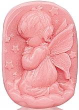 Parfumuri și produse cosmetice Săpun cu glicerină pentru copii - Bulgarian Rose Glycerin Fragrant Soap Pink Angel