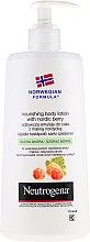 Parfumuri și produse cosmetice Loțiune de corp - Neutrogena Nourishing Body Lotion With Nordic Berry Normal To Dry Skin