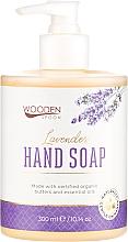 """Parfumuri și produse cosmetice Săpun lichid """"Lavandă"""" - Wooden Spoon Lavender Hand Soap"""