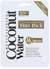 Parfumuri și produse cosmetice Mască-tratament pentru picioare - Xpel Marketing Ltd Coconut Water Foot Pack