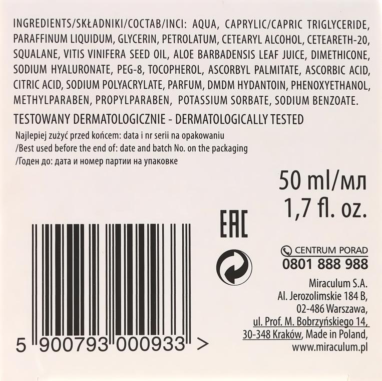 Cremă hidratantă antirid cu aloe și acid hialuronic - Miraculum Gracja Aloe Moisturizing Face Cream — Imagine N3