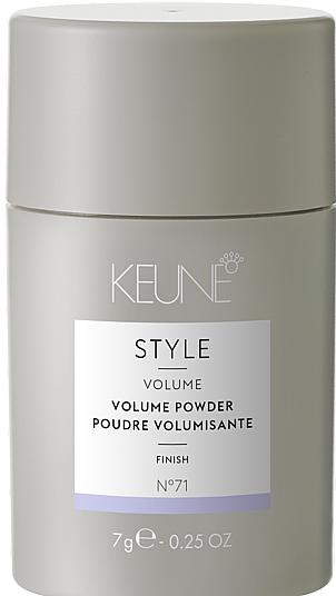 Пудра для объема волос №71 - Keune Style Volume Powder — фото N1