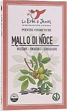 """Parfumuri și produse cosmetice Pudră de păr """"Coajă de nuc"""" - Le Erbe di Janas Pure Walnut Husk Powder"""