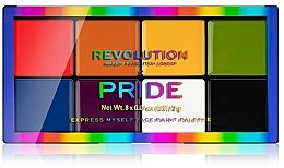 Parfumuri și produse cosmetice Paletă de machiaj - Makeup Revolution X Pride Express Myself Face Paint Palette