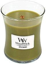 Parfumuri și produse cosmetice Lumânare parfumată în suport de sticlă - WoodWick Hourglass Candle Apple Basket