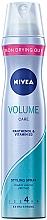 Духи, Парфюмерия, косметика Лак для волос - Nivea Volume Care Styling Hairspray