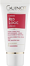 Parfumuri și produse cosmetice Cremă pentru întărirea vaselor de sânge, pentru față - Guinot Red Logic Face Cream