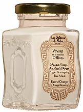 Parfumuri și produse cosmetice Mască de față - La Sultane De Saba Bio Argan & Orange Blossom Argan Anti-Ageing Face Mask Orange Blossom