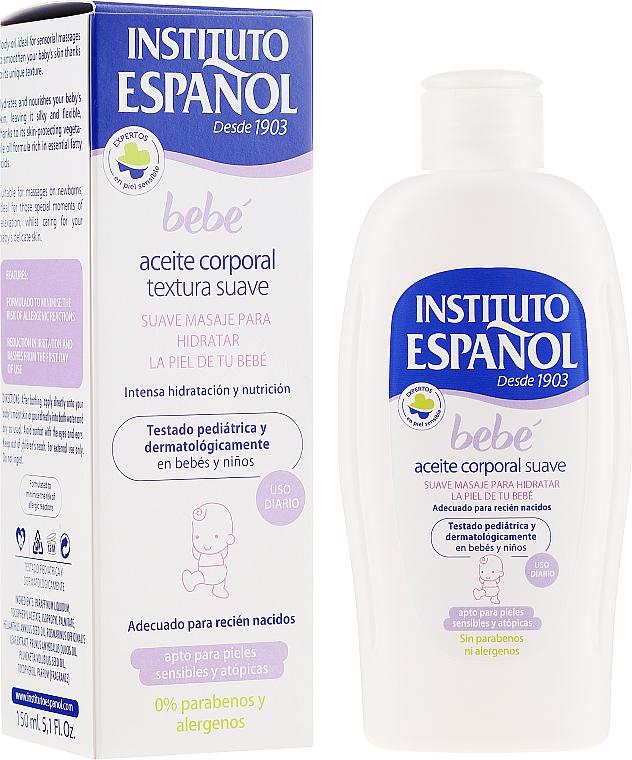 Ulei de corp pentru copii - Instituto Espanol