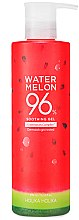 Parfumuri și produse cosmetice Gel hidratant cu extract de pepene verde pentru față - Holika Holika Watermelon 96% Soothing Gel