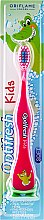 Parfumuri și produse cosmetice Periuță de dinți delicată pentru copii, roză - Oriflame Optifresh Toothbrush Soft
