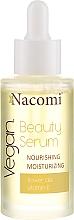 Parfumuri și produse cosmetice Ser facial - Nacomi Beauty Serum Nourishing & Moisturizing Serum