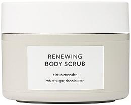 Parfumuri și produse cosmetice Scrub pentru corp - Estelle & Thild Citrus Menthe Renewing Body Scrub