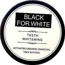 Parfumuri și produse cosmetice Praf de dinți - Biomika Black For White Teeth Whitening