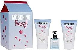 Moschino Funny - Set (edt 4 ml + sh/gel 25 ml + b/gel 25 ml) — Imagine N7