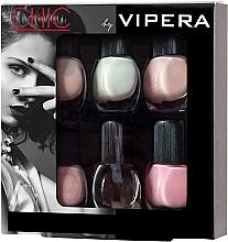 Parfumuri și produse cosmetice Set lacuri de unghii - Vipera Chic (nail/polish/6x5.5ml) (01 -Allure)