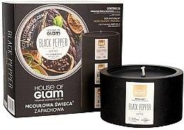 Parfumuri și produse cosmetice Lumânare parfumată - House of Glam Black Pepper&Coffee Candle