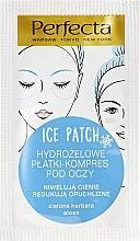 Parfumuri și produse cosmetice Plasturi Hydrogel Sub Ochi - DAX Perfecta Ice Eye Patch