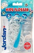 Parfumuri și produse cosmetice Set - Jordan Kids Flosser (floss/1szt+refils/36szt)