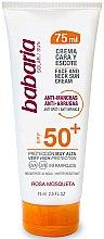 Parfumuri și produse cosmetice Cremă cu protecție solară pentru față și gât - Babaria Face and Neck Sun Cream Spf 50