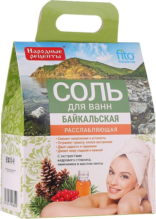 "Sare relaxantă de baie ""Baikal"" - FitoKosmetik"
