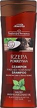 """Parfumuri și produse cosmetice Șampon pentru păr """"Ridiche și urzică"""" - Joanna Balancing And Strengthening Shampoo"""