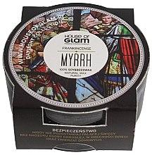 Parfumuri și produse cosmetice Lumânare parfumată - House of Glam Frankincense Myrrh Candle (mini)