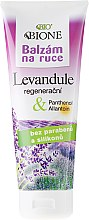Parfumuri și produse cosmetice Balsam de mâini - Bione Cosmetics Lavender Hand Ointment