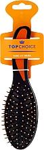 Parfumuri și produse cosmetice Pieptene de păr 2014, negru-oranj - Top Choice
