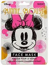 Parfumuri și produse cosmetice Mască de țesut cu efect de înmuiere - Mad Beauty Disney Minnie Mouse Magic Sheet Face Mask