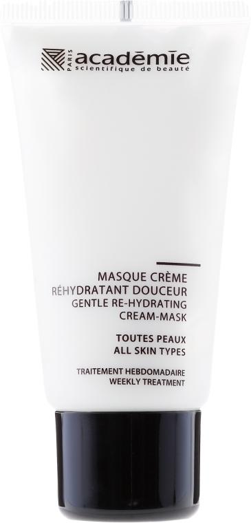Masca Cremă Hidratantă - Academie Gentle Re-Hydrating Cream-Mask — Imagine N2