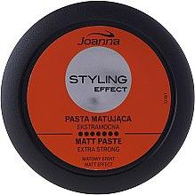 Parfumuri și produse cosmetice Pastă modelatoare mată pentru păr - Joanna Styling Effect Extra Strong Matt Paste