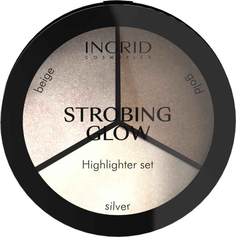 Paletă de iluminatoare - Ingrid Cosmetics Strobing Glow Palette