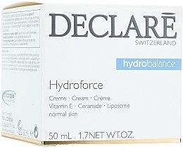 Parfumuri și produse cosmetice Cremă cu Vitamina E pentru față - Declare Hydroforce Cream