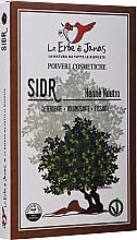 """Parfumuri și produse cosmetice Pudră decolorantă pentru păr """"Sidr"""" (Ziziphus) - Le Erbe di Janas Sidr (Ziziphus)"""