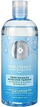Parfumuri și produse cosmetice Nawilżająca woda micelarna z ekstraktem z ogórka - Green Feel's Triple Effect Intensively Moisturizing Micellar Water