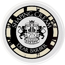 Parfumuri și produse cosmetice Cremă de modelare pentru păr - Dear Barber Shaping Crem (Mini)